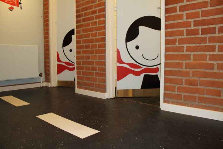 Skoletoiletter med nudging. Toilet Heaven. Problemer med skoletoiletter. Skoletoiletter hos Ballerup