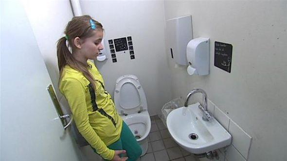 Nudging af børn i folkeskolen. Ulækre skoletoiletter - nu ganske lækre. Skoletoiletter DR. Nudging af børn er et særligt felt.