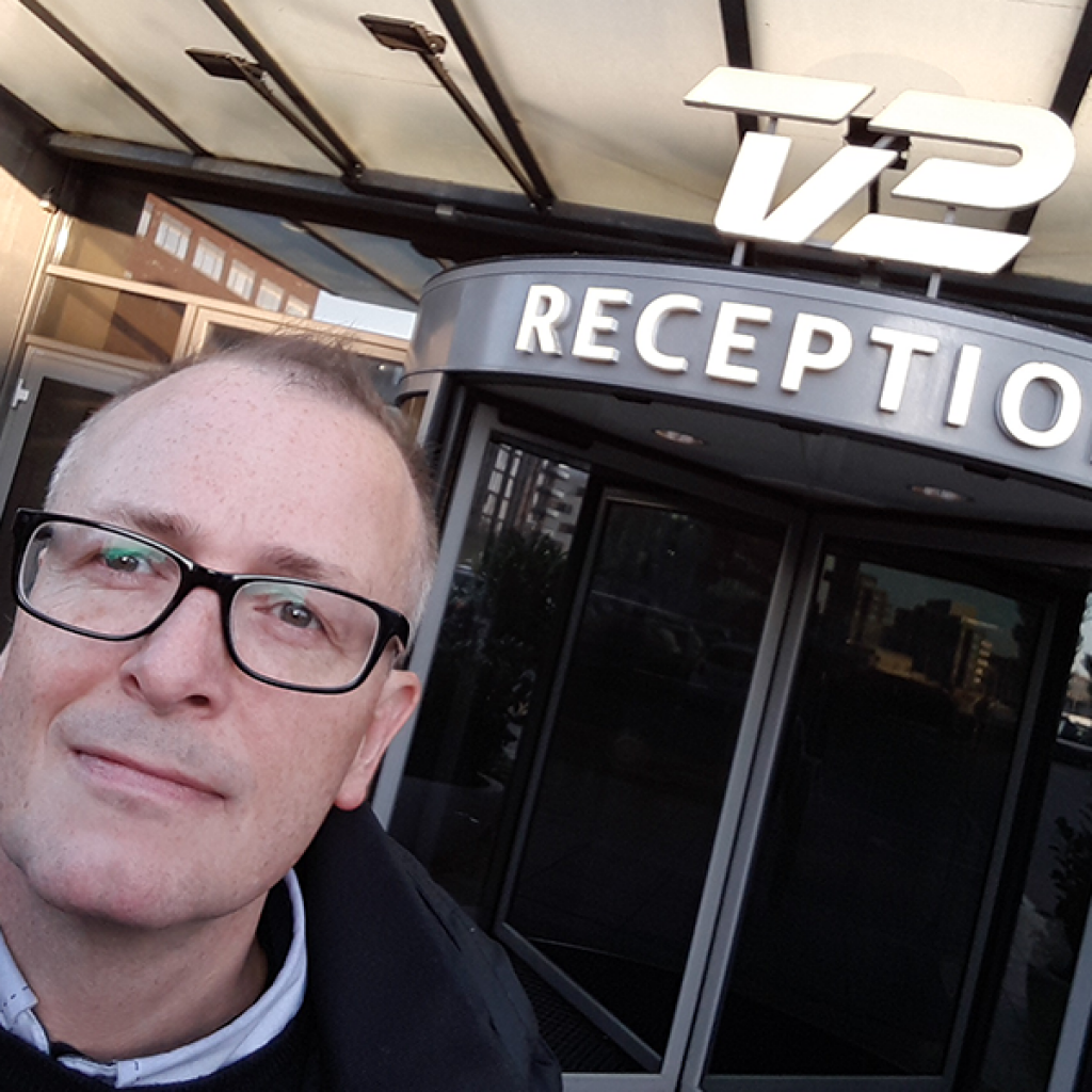 Pressearbejde og kommunikaion hos Brave. PR og Branding. Interview hos TV2