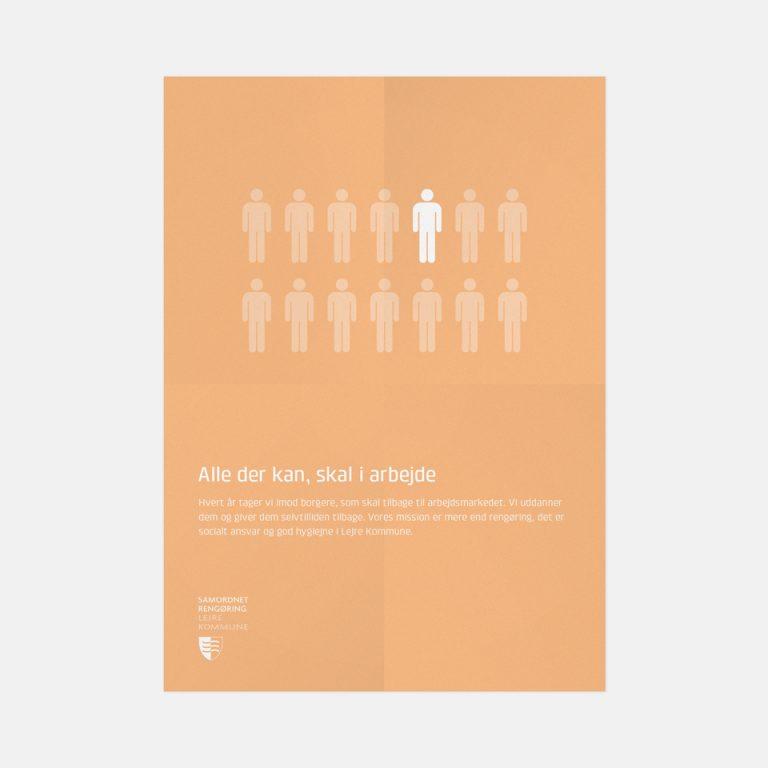Kommunikationsstrategi. Strategisk kommunikation. Branding og nudging af interessenter. Grafisk design fra Brave. Sorø