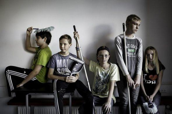Trivsel i folkeskolen. Skoletoiletter. Sorø Kommunes trivselskampagne.