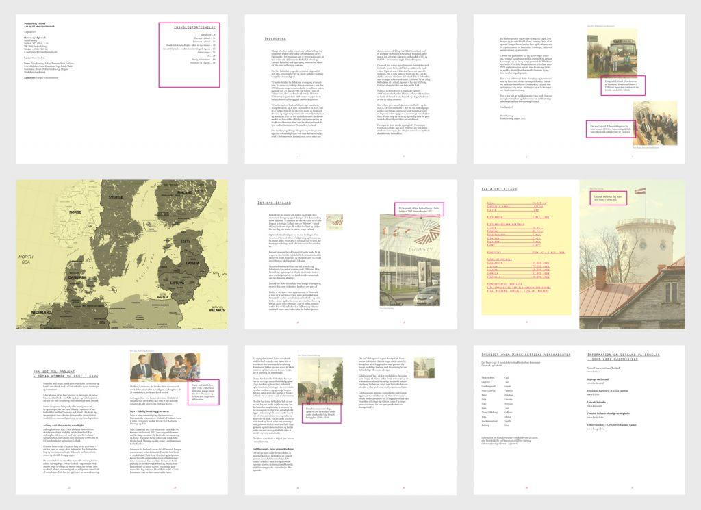 Grafisk design. Brochurer og bøger. Sorø. Brave. Politisk kampagnemateriale.
