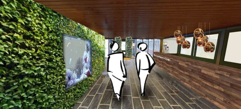 Design af biblioteker og borgerservice. Få din ønskede adfærd med den rette indretning. Udviklet med adfærdsdesign hos Brave. Se også www.nudging.nu