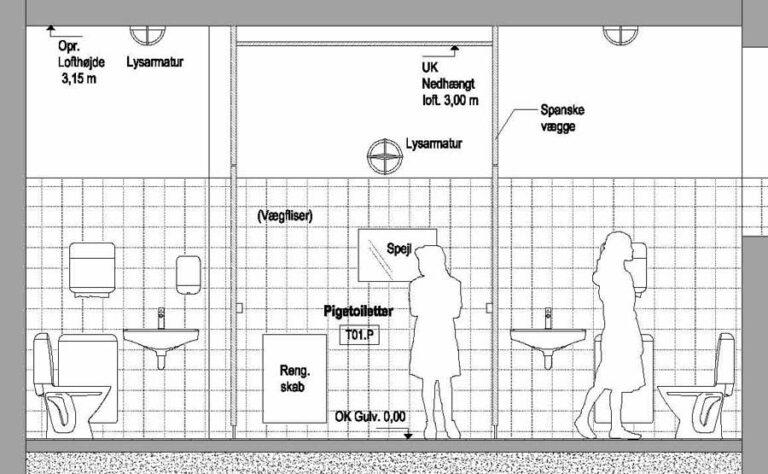 Byggerådgivning til skoletoiletter af Brave