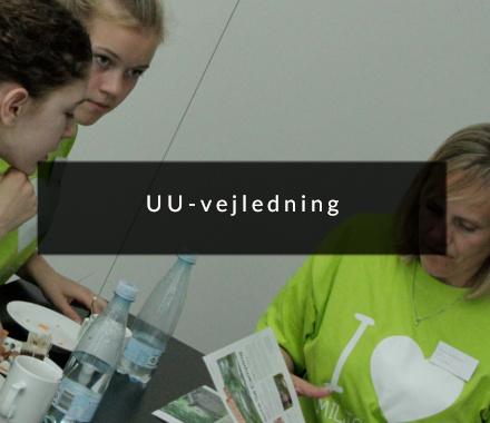 Unge og uu-vejledning - nudging af unge mennesker. Udført af Brave