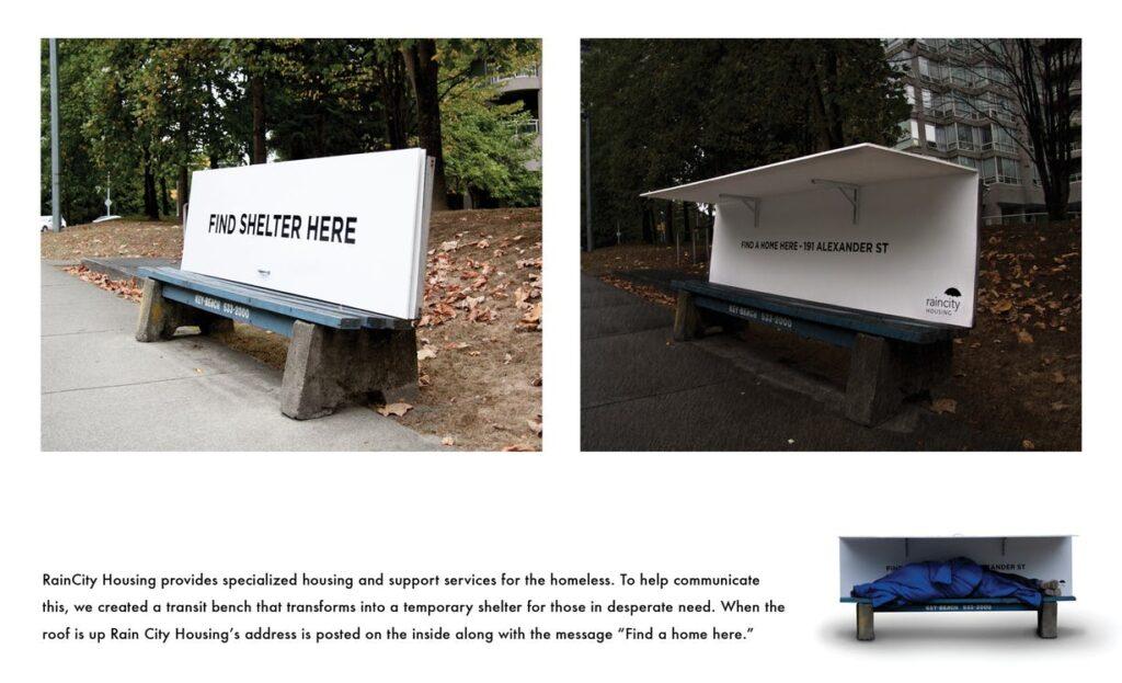 Positiv kommunikation. Nudging. hjemløse